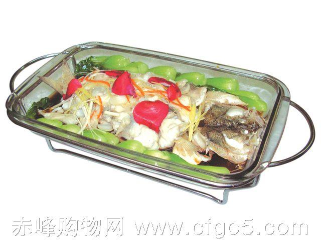 赤峰好日子风味楼 百合鲜花鲈鱼 42元 高清图片